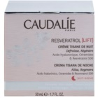 Caudalie Resveratrol [Lift] crema de noche regeneradora  con efecto alisante